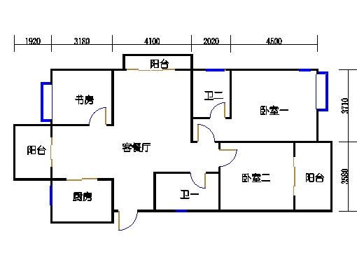 26号楼奇数层东边套