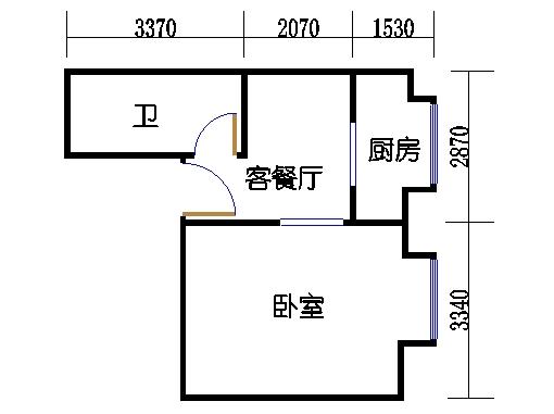 精装金领公寓A3a单元