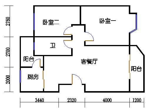 1楼A单元