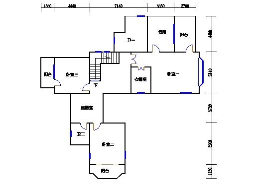 P-B单元二层