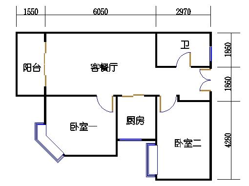 4楼一单元3-20层02