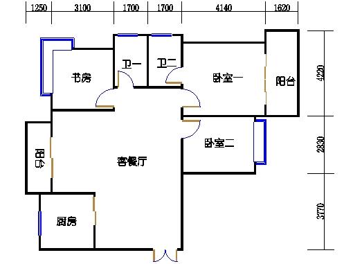 5楼一单元3-22层01