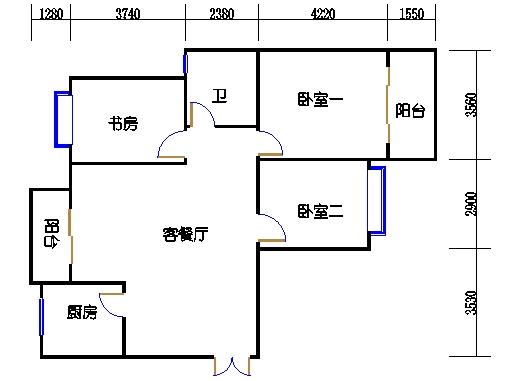 5楼二单元3-20层01