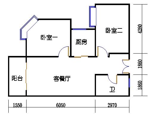 5楼二单元3-20层03