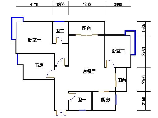 5楼二单元3-20层04