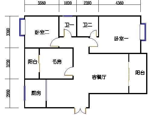8楼二单元3-29层01