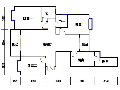 8楼一单元3-27层02