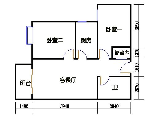 1-8楼5-25层1-03单元