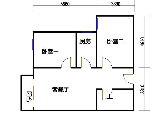 1-8楼5-25层03单元