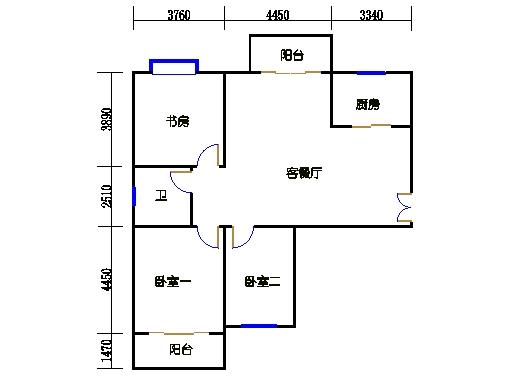 4-5楼3-27层04单元