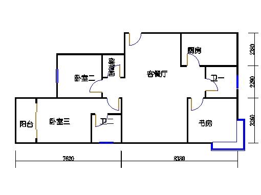 4-5楼3-27层1-01单元