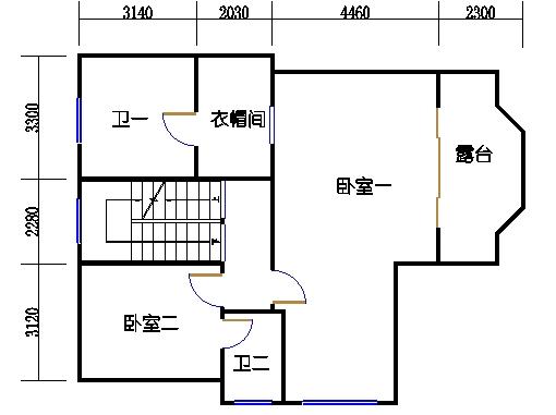 B43-44单元二层