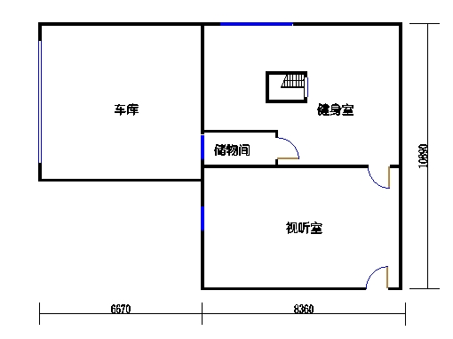 F单元(2层)地下层