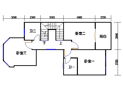 C单元三层