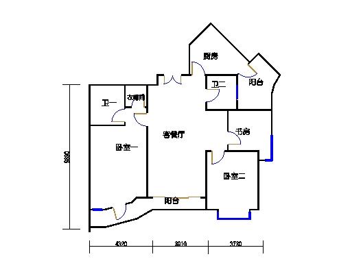 2-6楼A单元