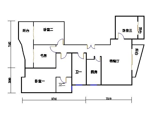 7-9楼B单元