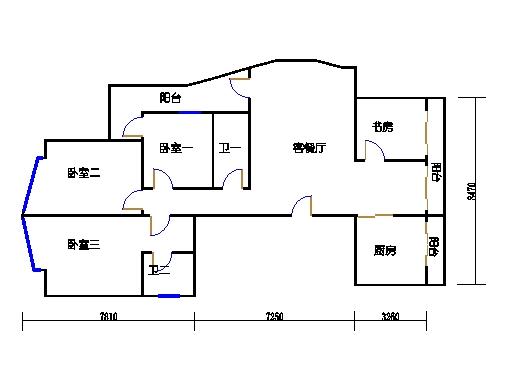 7-9楼A单元