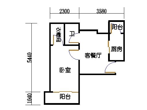 4幢02单元05室