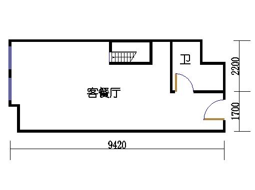 8-9栋09单元一层