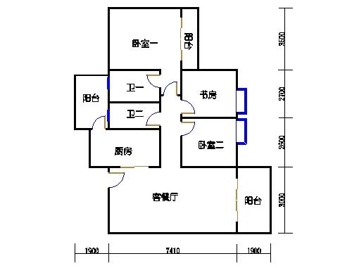 2栋4-12层03单元