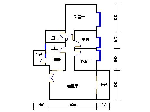 3栋3-15层03单元