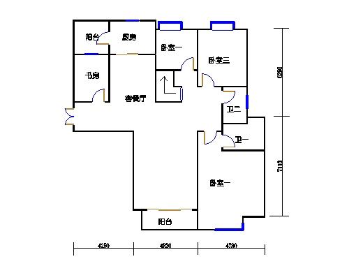 悦山翠庭B型1复式首层