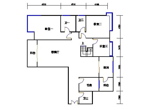 悦山翠庭B型5复式首层