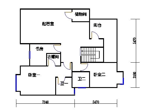 尚林美居E型1复式二层