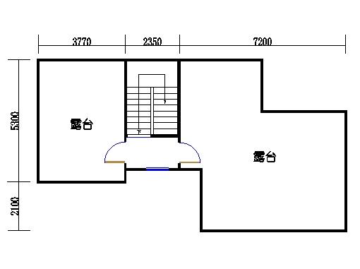 联排别墅A型四层