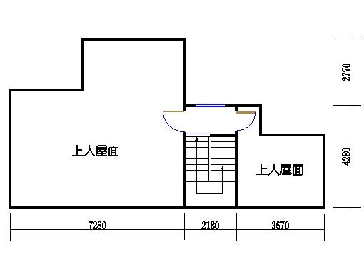 联排别墅B型四层