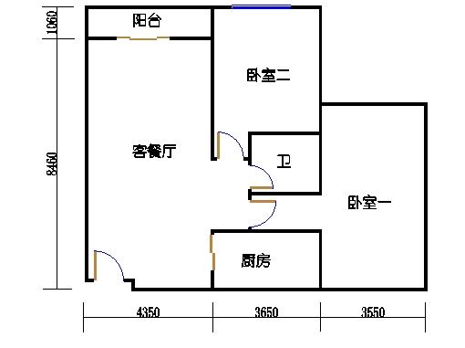 K栋11单元(B1)