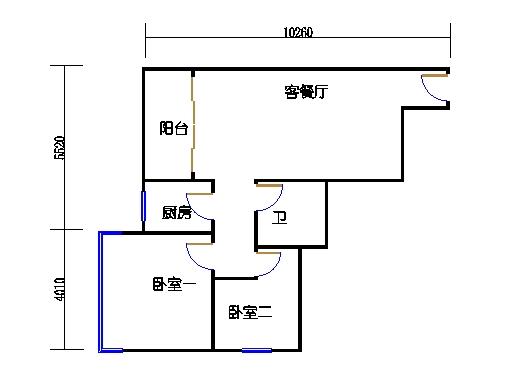 8-31层A单元