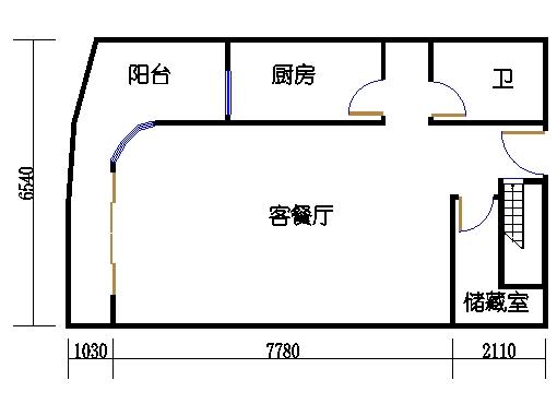 2房户型首层