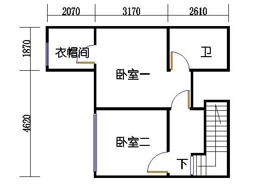 2房户型夹层