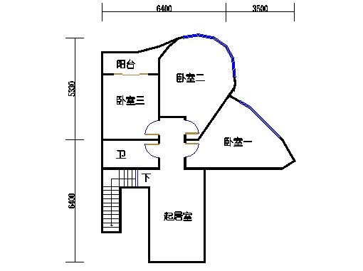 4房户型夹层