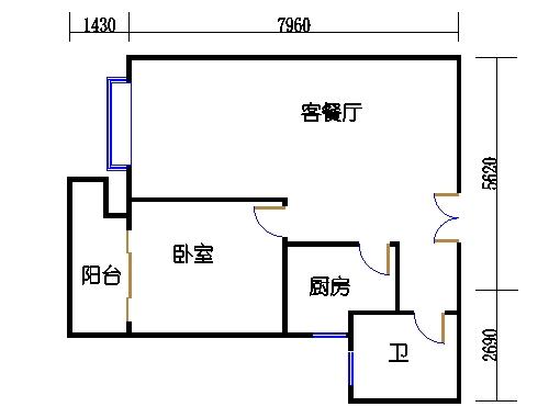 2幢2号02室(A3房型)