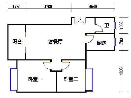 1幢5号01室(B1房型)