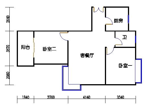 1幢3号01室(B5房型)