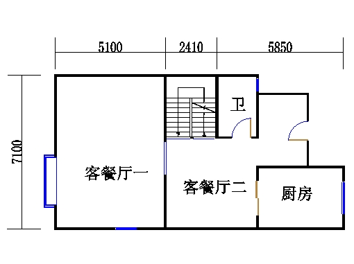 CII型别墅首层