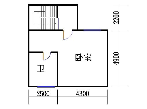 CI型别墅三层
