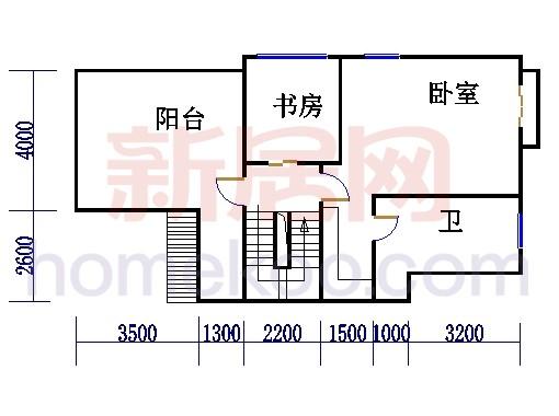 E型别墅三层