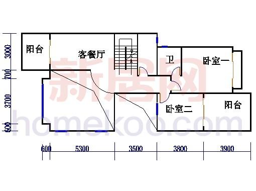 FIII型别墅二层