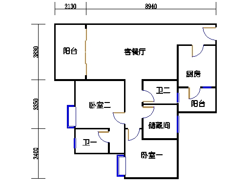 4号楼6层30号04单元