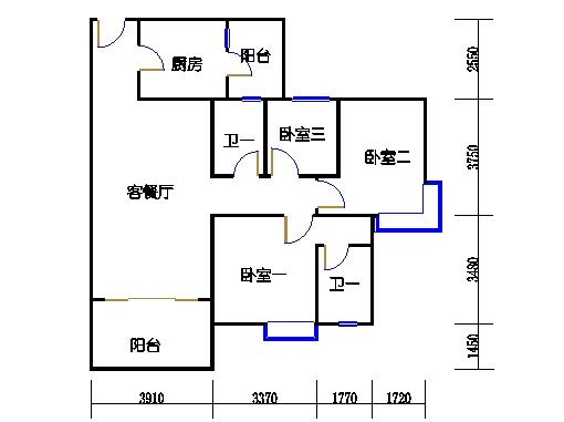 5号楼2层33号04单元