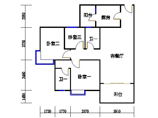 5号楼3层33号03单元