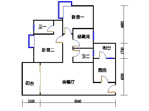 5号楼4层33号03单元