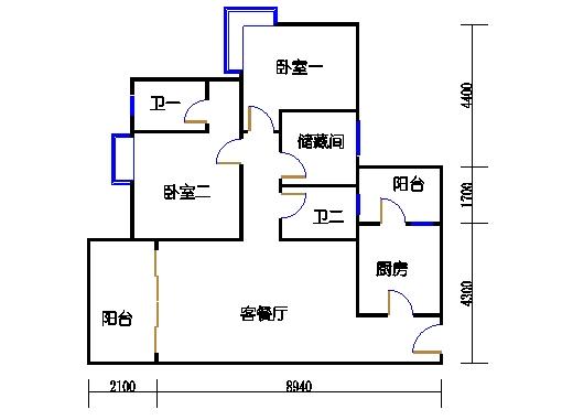 5号楼5层33号03单元