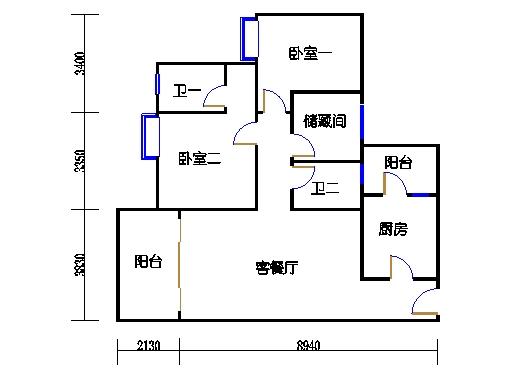 5号楼6层31号03单元