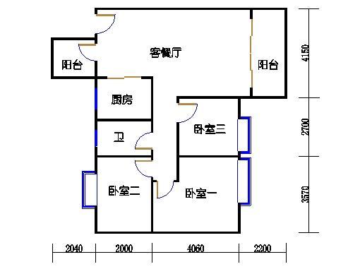 7号楼三层1号01单元