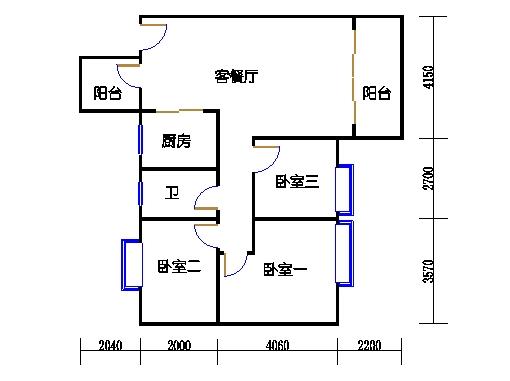 7号楼三层2号01单元